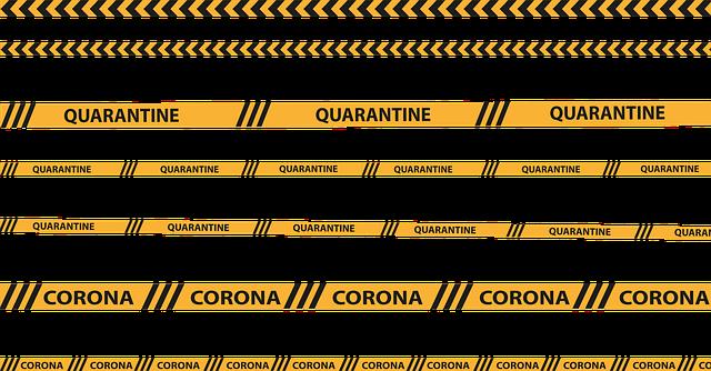 Een coronatest. De besmettingen en de lockdown